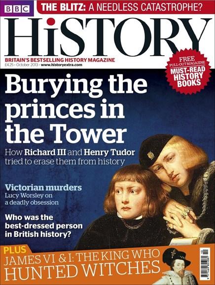 BBC History Cover - 10/1/2013