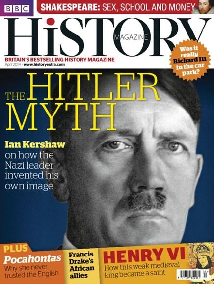 BBC History Cover - 4/1/2014