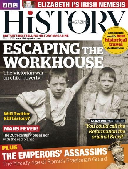 BBC History Cover - 3/1/2017