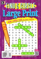 Find and Circle Large Print Magazine 6/1/2017