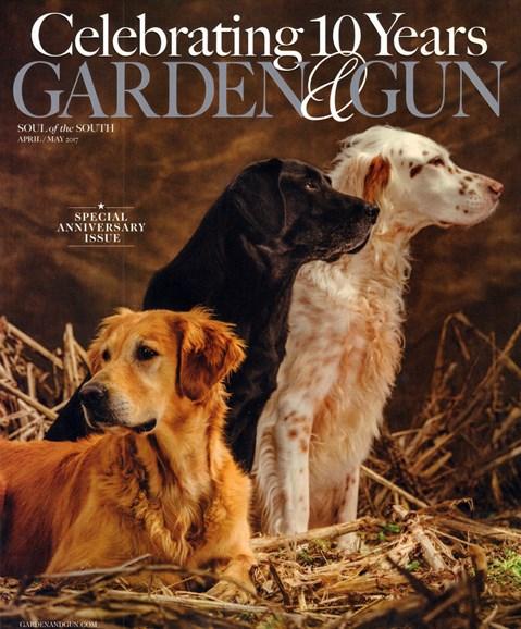 Garden & Gun Cover - 4/1/2017