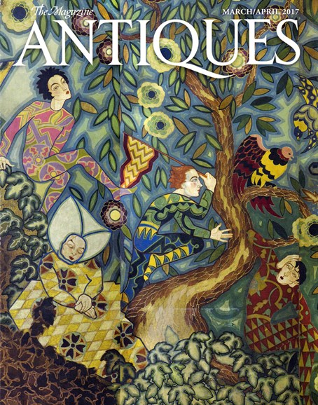The Magazine Antiques Cover - 3/1/2017