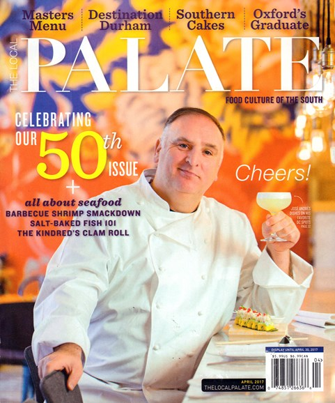 The Local Palate Cover - 4/1/2017