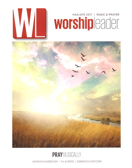 Worship Leader Magazine Cover - 3/1/2017