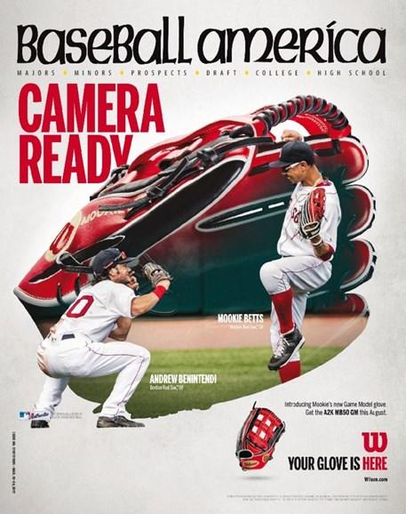 Baseball America Cover - 3/10/2017