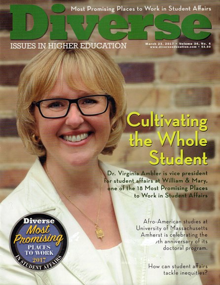 Diverse: Issues In Higher Education Cover - 3/23/2017