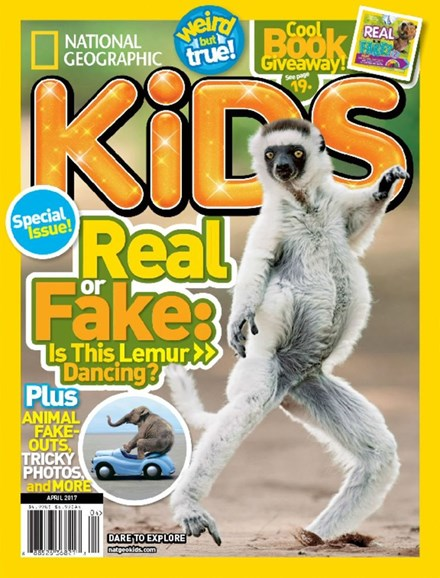 National Geographic Kids Cover - 4/1/2017