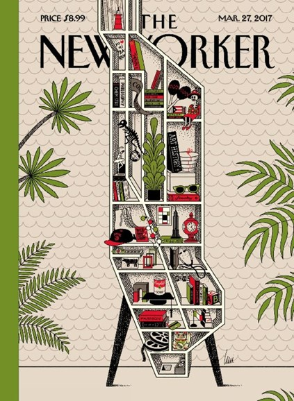 The New Yorker Cover - 3/27/2017