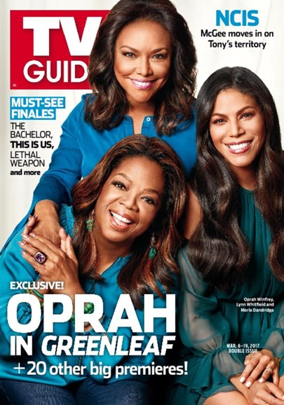 TV Guide Cover - 3/6/2017