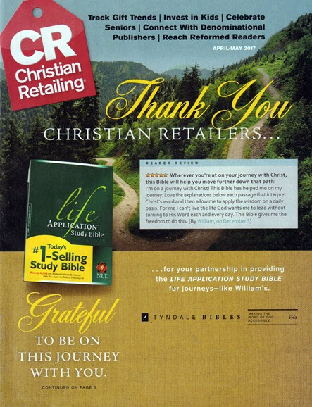 Christian Retailing Cover - 4/1/2017