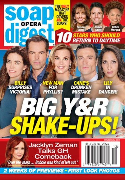 Soap Opera Digest Cover - 3/20/2017