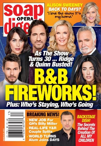 Soap Opera Digest Cover - 3/27/2017