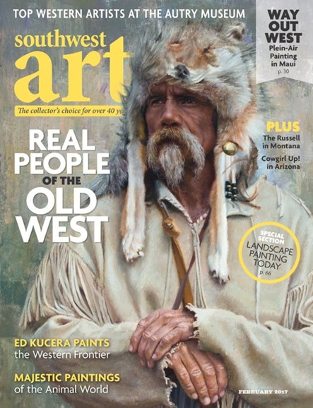 Southwest Art Cover - 2/1/2017