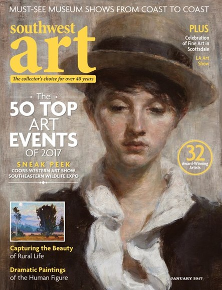 Southwest Art Cover - 1/1/2017
