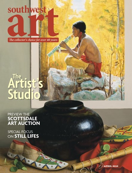 Southwest Art Cover - 4/1/2016