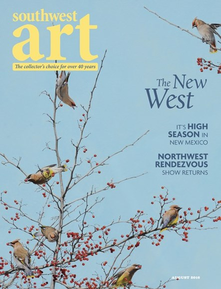 Southwest Art Cover - 8/1/2016