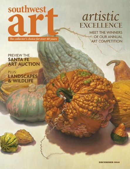 Southwest Art Cover - 12/1/2016