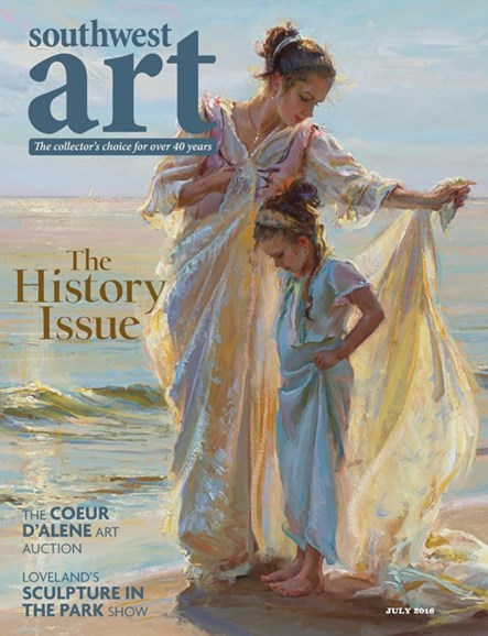 Southwest Art Cover - 7/1/2016