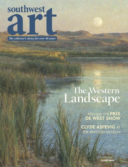 Southwest Art Cover - 6/1/2016