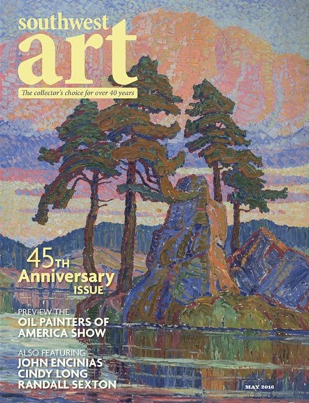 Southwest Art Cover - 5/1/2016