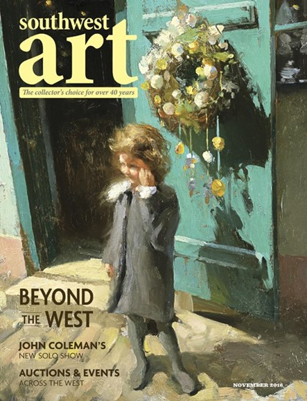 Southwest Art Cover - 11/1/2016