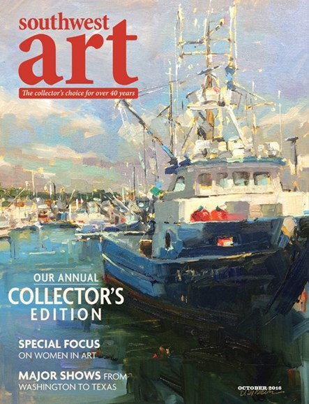 Southwest Art Cover - 10/1/2016