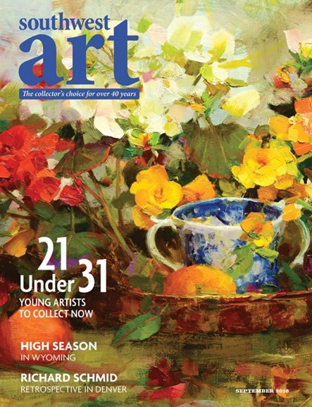 Southwest Art Cover - 9/1/2016
