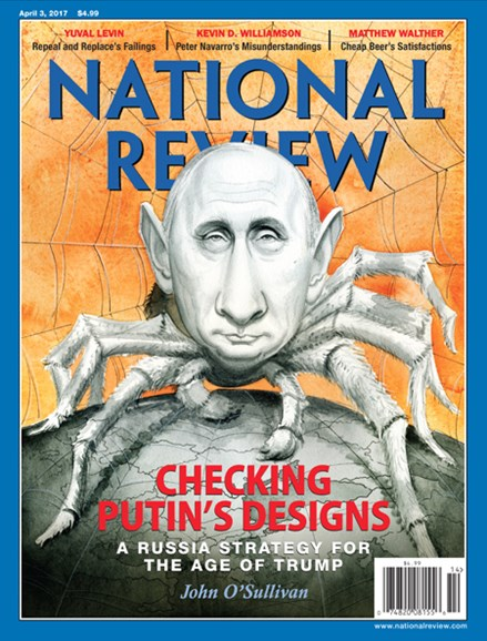 National Review Cover - 4/3/2017