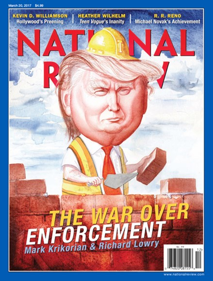 National Review Cover - 3/20/2017