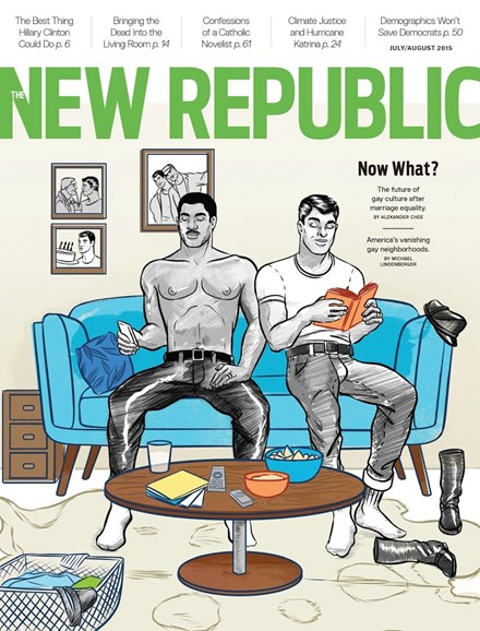 The New Republic Cover - 7/1/2015