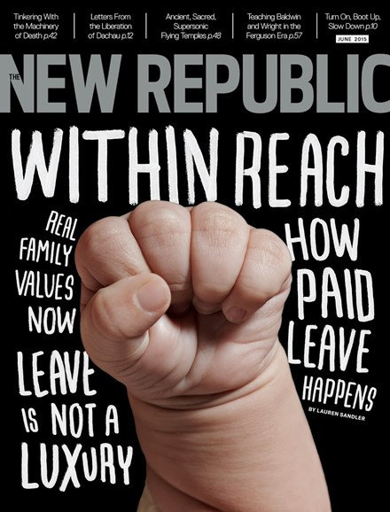 The New Republic Cover - 6/1/2015