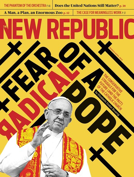 The New Republic Cover - 3/1/2015