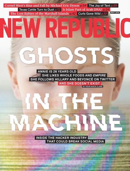 The New Republic Cover - 5/1/2015