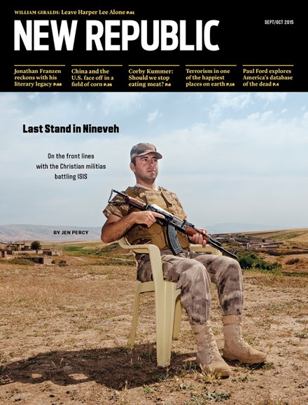 The New Republic Cover - 9/1/2015