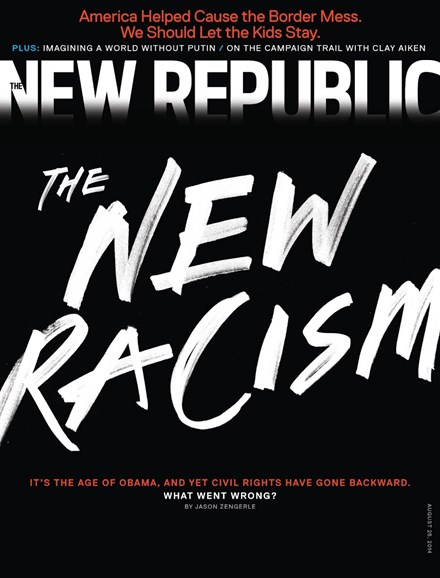 The New Republic Cover - 8/25/2014