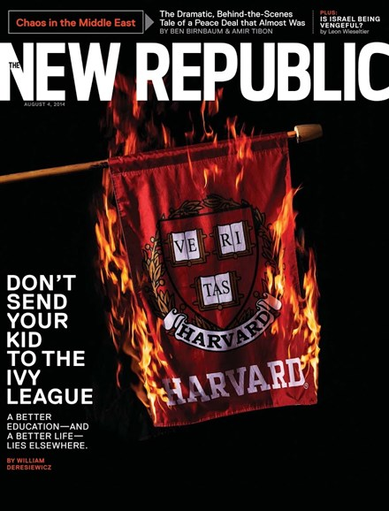 The New Republic Cover - 8/4/2014