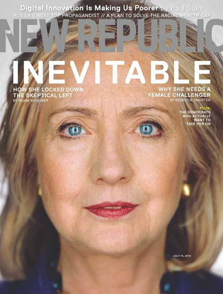 The New Republic Cover - 7/14/2014