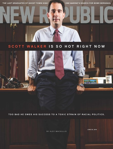 The New Republic Cover - 6/30/2014