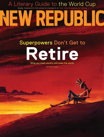 The New Republic Cover - 6/9/2014
