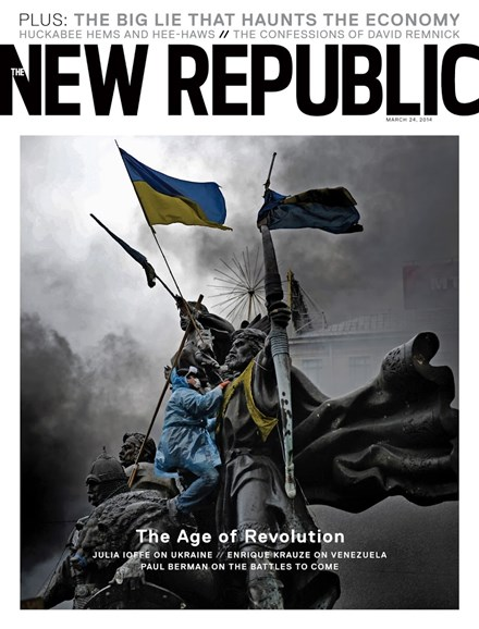 The New Republic Cover - 3/24/2014