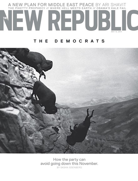 The New Republic Cover - 5/12/2014