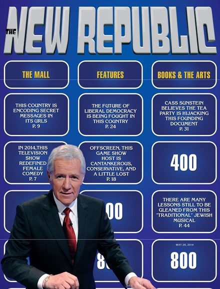 The New Republic Cover - 5/26/2014