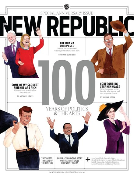 The New Republic Cover - 11/24/2014