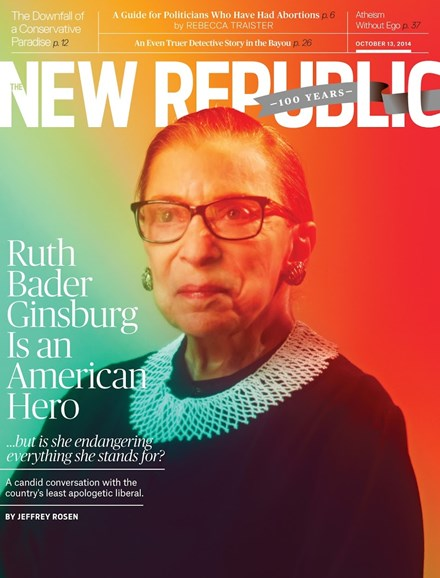 The New Republic Cover - 10/13/2014