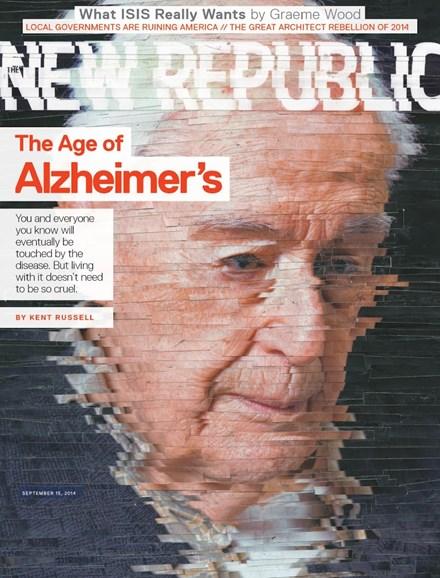 The New Republic Cover - 9/15/2014