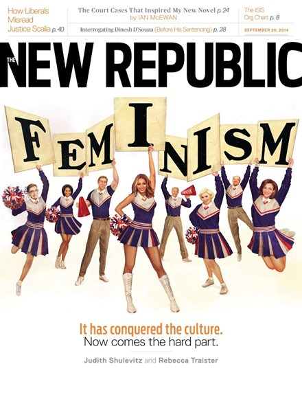 The New Republic Cover - 9/29/2014