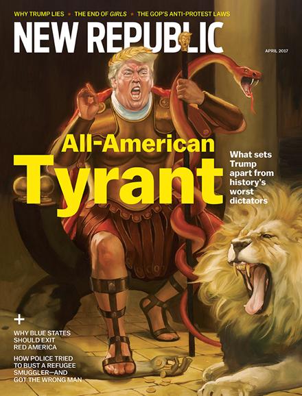 The New Republic Cover - 4/1/2017