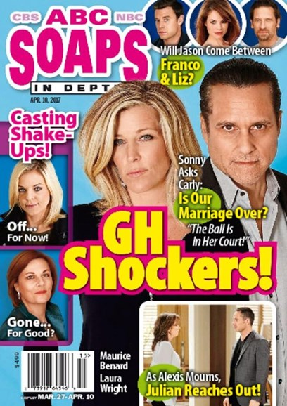 ABC Soaps In Depth Cover - 4/10/2017