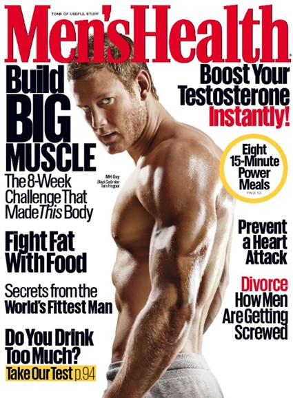 Men's Health Cover - 4/1/2016