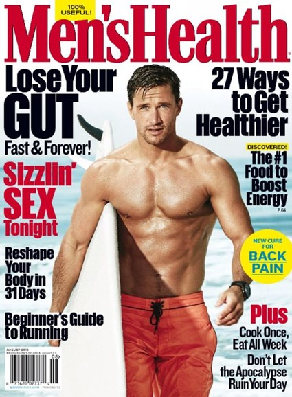 Men's Health Cover - 7/1/2016